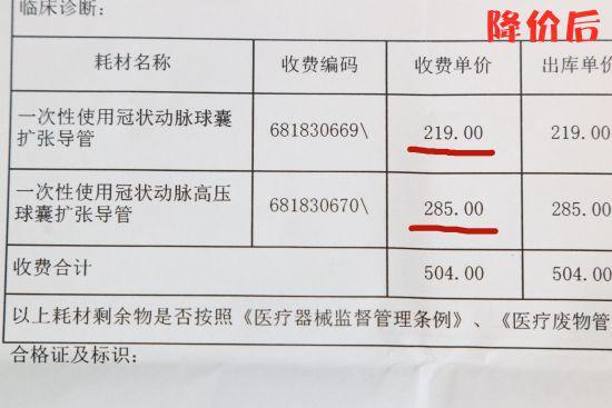 图为降价后收费标准。