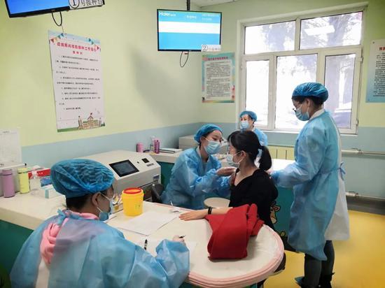 内蒙古已接种新冠病毒疫苗360万剂次