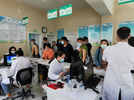 通辽市科左中旗:保障疫苗运送 确保接种及时