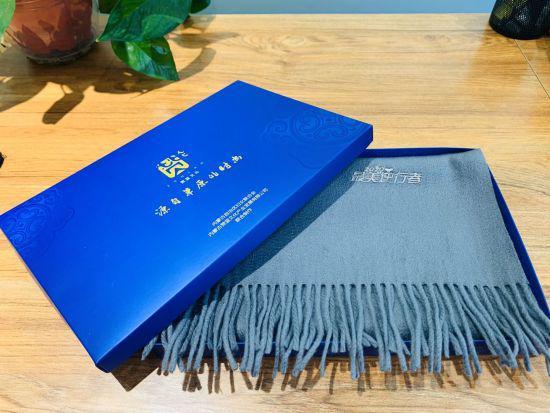 1000条定制版羊绒围巾送给疫情防控一线女性