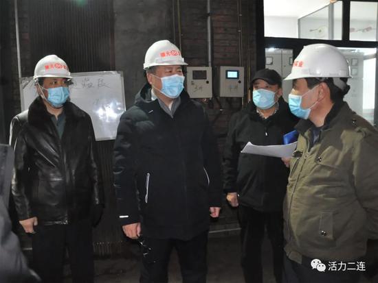 在瑞源实业股份有限公司第一热源站调研