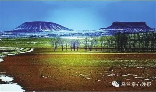 ●察哈尔火山 摄影:特格西