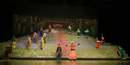 大型史诗情景演出《契丹王朝》再现辽帝国两百年兴衰
