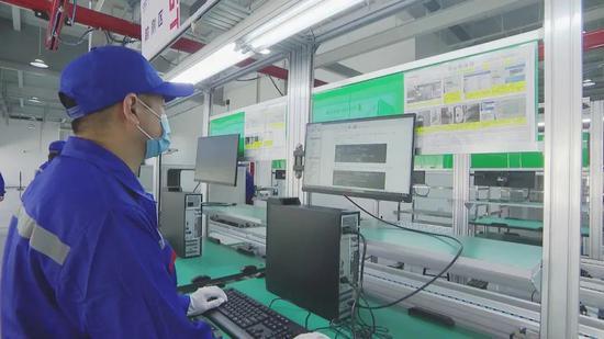 内蒙古首条全国产化自主安全计算机生产线下线