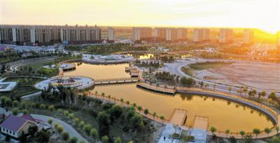 通辽市开鲁县形成一幅高颜值的人居生态和谐新画卷