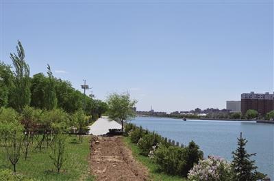 """渣土堆变身""""城市公园""""呼和浩特环境更宜居"""
