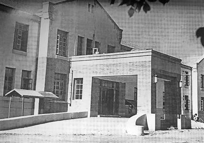 《内蒙古日报》创刊时期在乌兰浩特的社址。