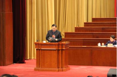 刘剑夔委员在发言