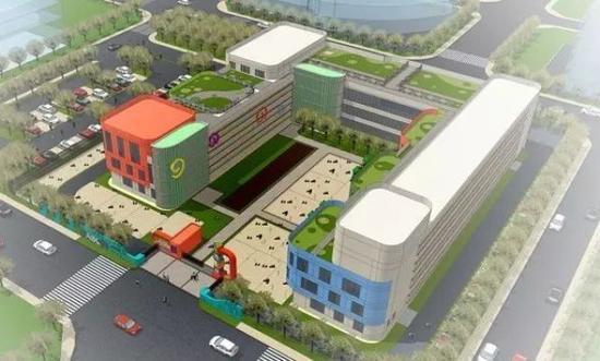 ◆铁路幼儿园(四幼)。新建综合楼7000平方米