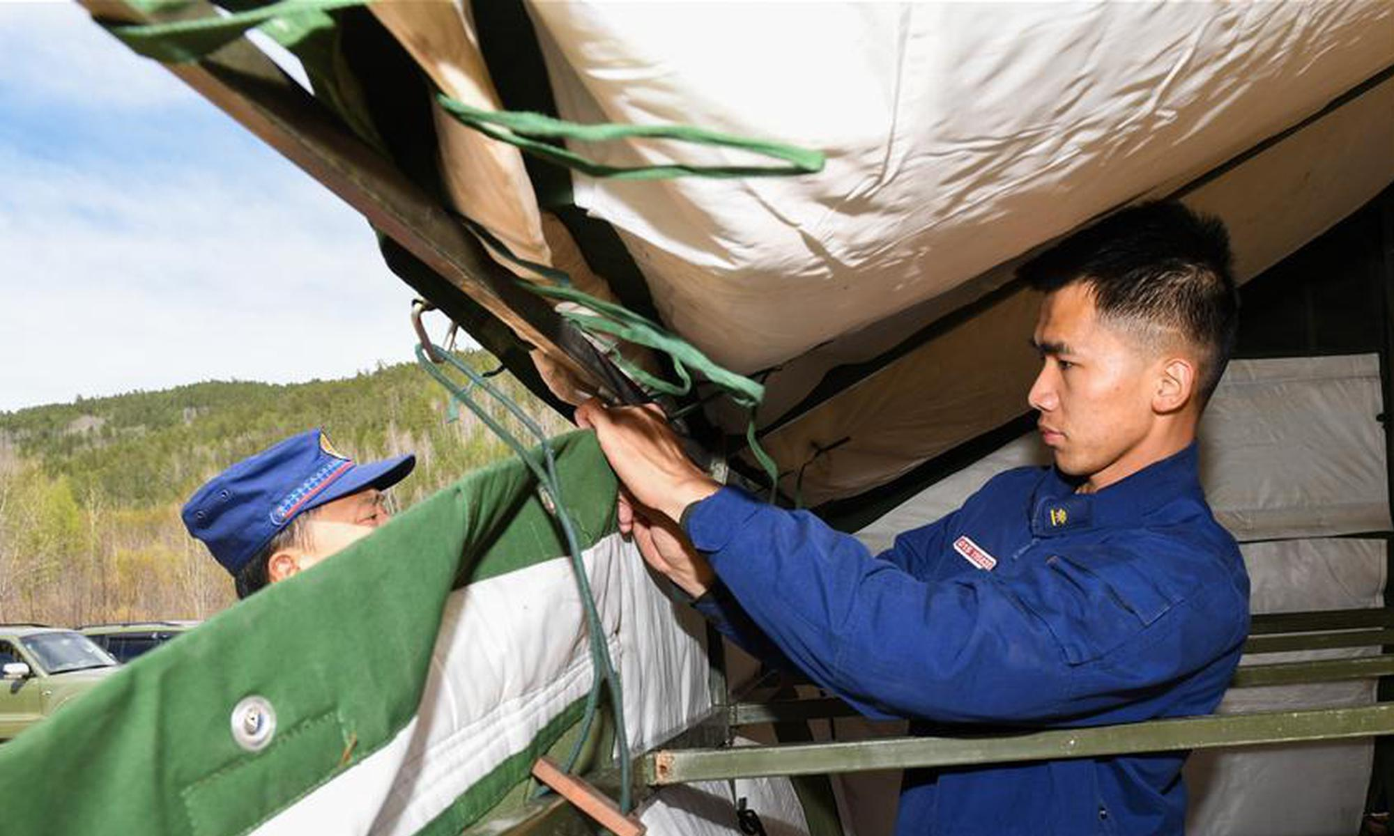 内蒙古森林消防:挺进大兴安岭