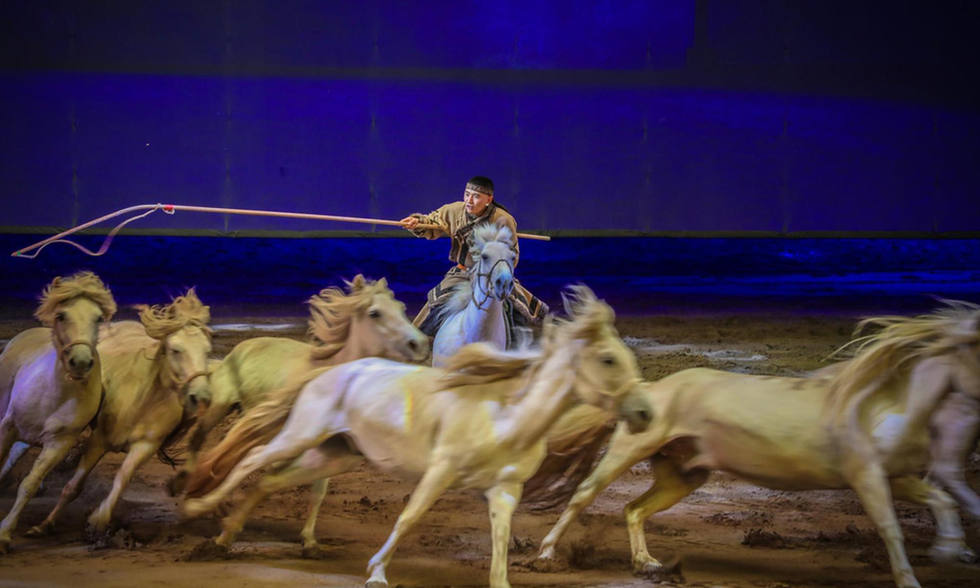 全景式大型馬舞劇《千古馬頌》
