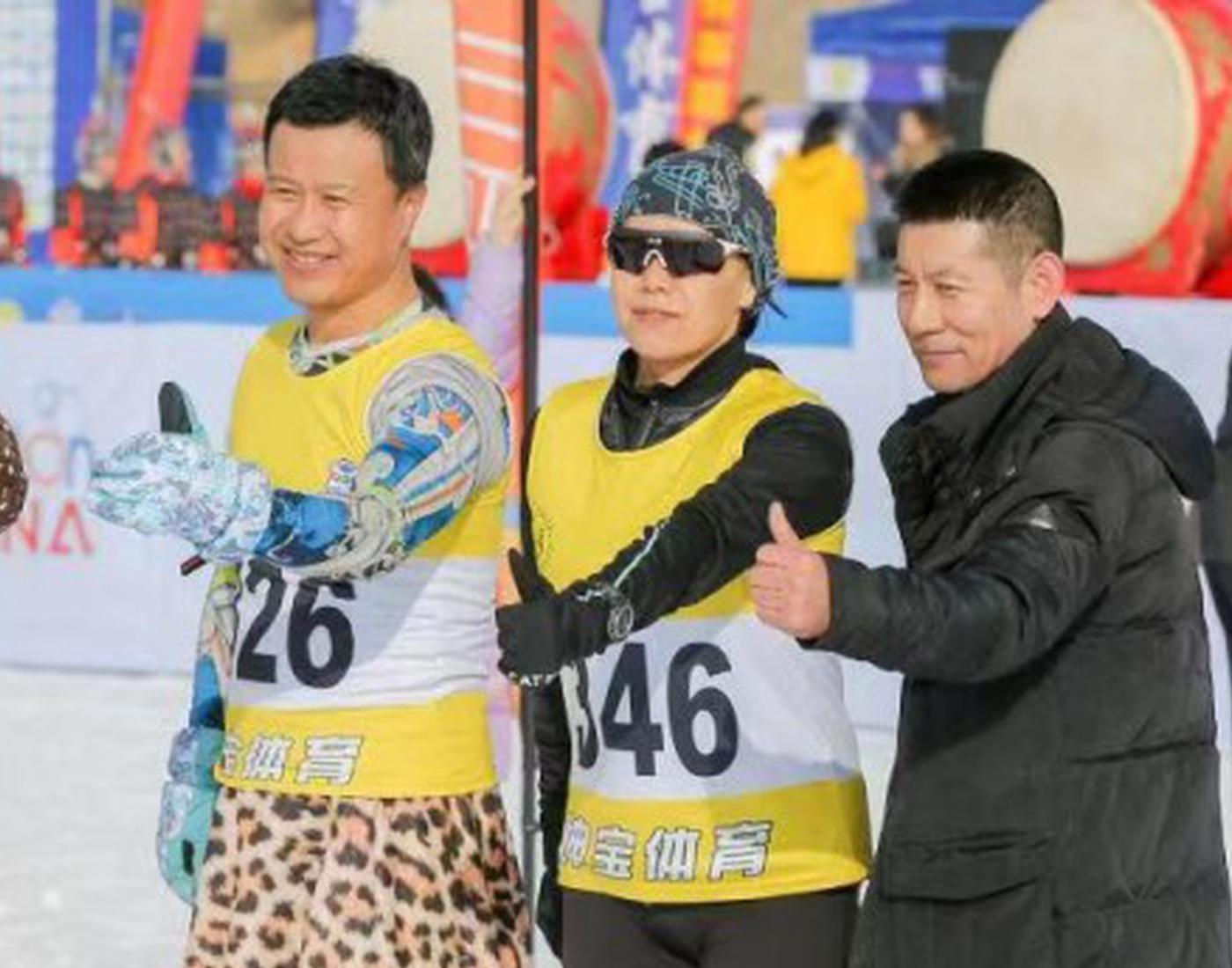 全国冬季铁人三项赛开赛