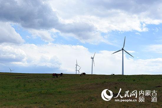 辉腾锡勒草原黄花沟景区美景。 记者 张枨 摄