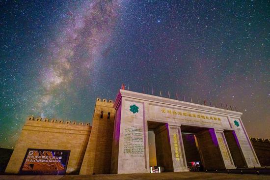 内蒙古网红打卡地 丨 七星湖沙漠度假区