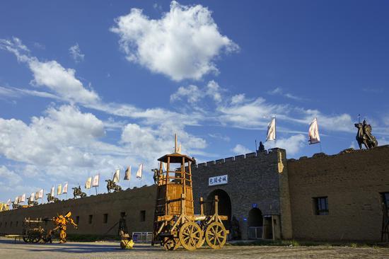 内蒙古网红打卡地 丨 包头古城文化旅游景区