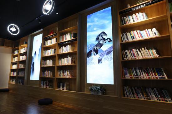 内蒙古网红打卡地 丨 蒙西文化大厦鸿雁书屋