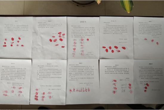 鄂托克旗第二人民医院97名医疗卫生人才递交请战书。