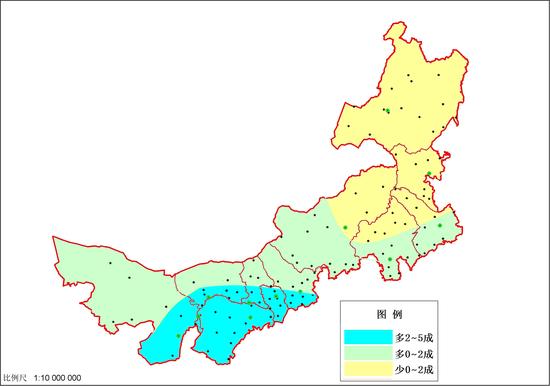 2018年7月21日至8月31日降水量距平百分率预报图