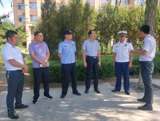 乌兰浩特市消防救援大队联合多部门开展专项整治行动