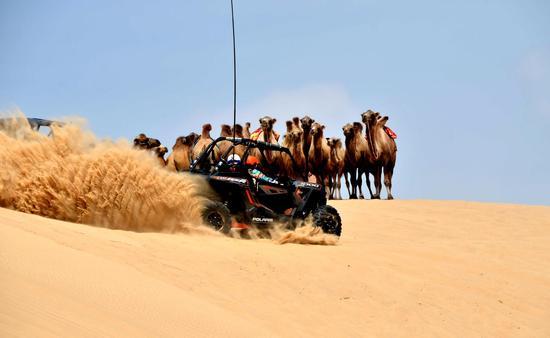 7月度假 共赴内蒙古奈曼旗宝古图沙漠那达慕