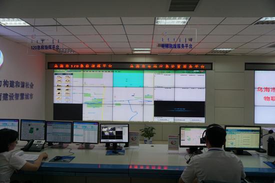与市政府12345便民服务平台联网运行的电梯物联网远程监控系统