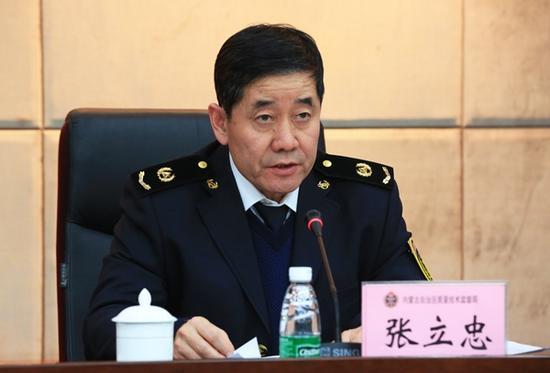 局党组成员、副局长张立忠部署纪律作风整顿工作。
