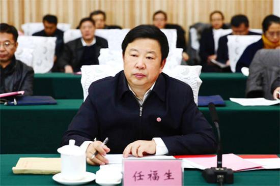 内蒙古自治区政府副秘书长任福生作内蒙古自治区政府质量工作情况汇报