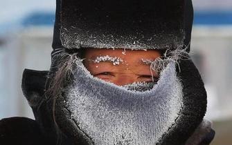 内蒙古呼伦贝尔现零下43.8度
