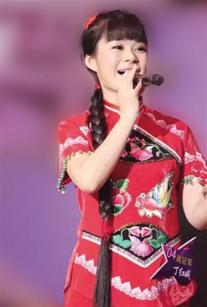 获得CCTV3《越战越勇》优秀奖的农民歌手丁红娥演唱代表作《亲亲大西北》