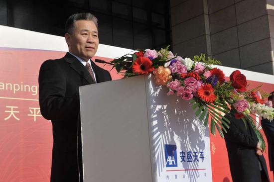 安盛天平财产保险股份有限公司执行副总裁 夏立武