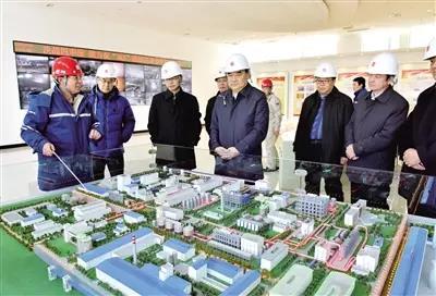 自治区党委常委、自治区副主席、呼和浩特市委书记云光中调研内蒙古大唐国际再生资源开发有限公司。