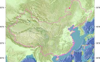 内蒙古呼伦贝尔发生3.2级地震