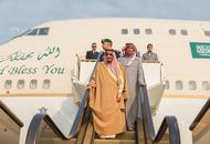 沙特国王超壕访华团