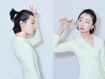 伪少女首选 周冬雨杨紫的苹果头清新又减龄