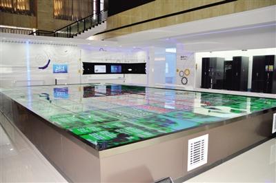 盛乐现代服务业集聚区云计算产业展示