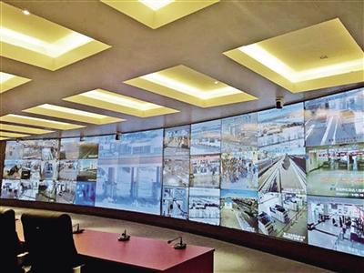 内蒙古电子口岸视频监控中心