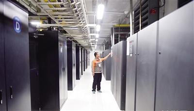 和林县中国电信云计算内蒙古信息园数据机房