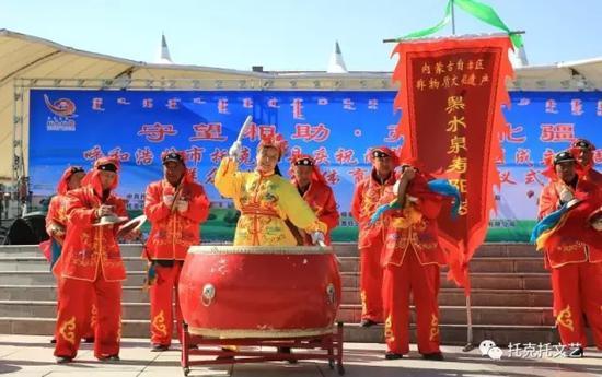 自治区非物质文化遗产——黑水泉寿阳鼓
