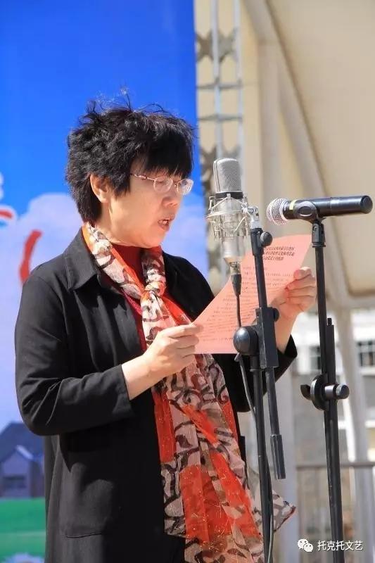县委常委、宣传部部长郭美桃致辞并宣布活动正式启动