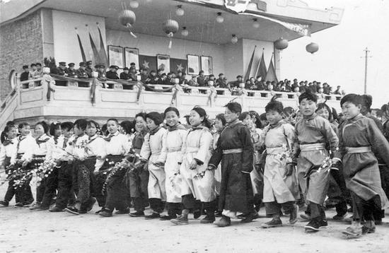 1955年庆祝五一国际劳动节