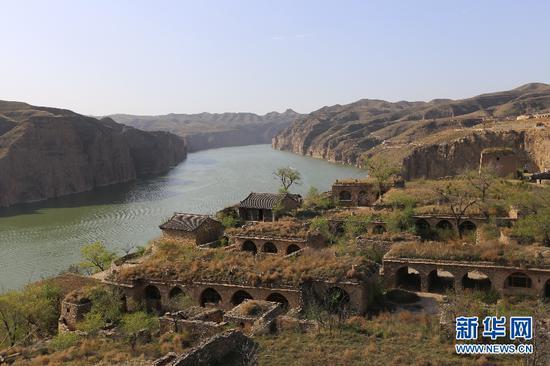 黄河由蒙入晋之地,老牛湾黄河大峡谷