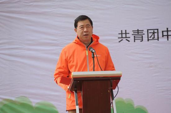 内蒙古分公司副总经理霍英夫为本次活动致辞