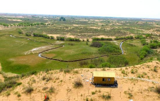 宿营地全景图