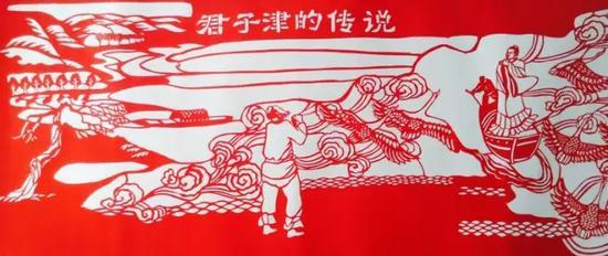 7.君子津曾是今托县地区黄河岸边的一处古渡口。据北魏郦道元《水经注》记载,(东汉)汉桓帝十三年,桓帝要到西部榆中(今鄂尔多斯西北部)巡视,而后东行到代地(今河北省北部)。一位来自洛阳的大商人携带着许多金银货物跟随在桓帝后面同行。因夜间行路迷失了方向,商人投奔到附近一河渡口的船家那里要求渡河,船家名叫子封,送商人渡河。不料商人突然发病死亡,这位船家就把他的尸体埋葬了。