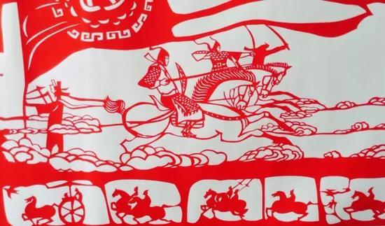 """4.公元前307年,赵武灵王'''变俗胡服,习骑射,北破林胡,楼烦''""""。云中城为郡治。促进了当地农牧业生产的发展和社会进步。"""