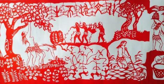 2.在托县海生不浪村和蒲滩拐出土的石铲,石镢等石器证明当时人类过着半穴居的农业生活。同时从事狩猎和捕鱼等生产活动。妇女从事农耕和采集,男子从事渔猎。被考古专家称为海生不浪文化。