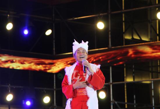陕北民歌歌王王向荣演唱《天下黄河》