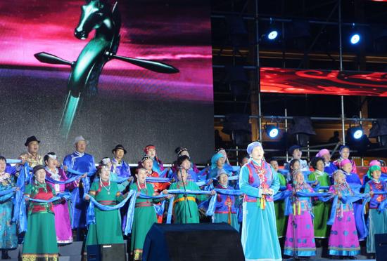 乌拉特民歌手演唱