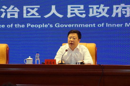 自治区人民政府副秘书长任福生介绍了自治区深化商事制度改革情况