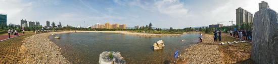 西城公园全景图